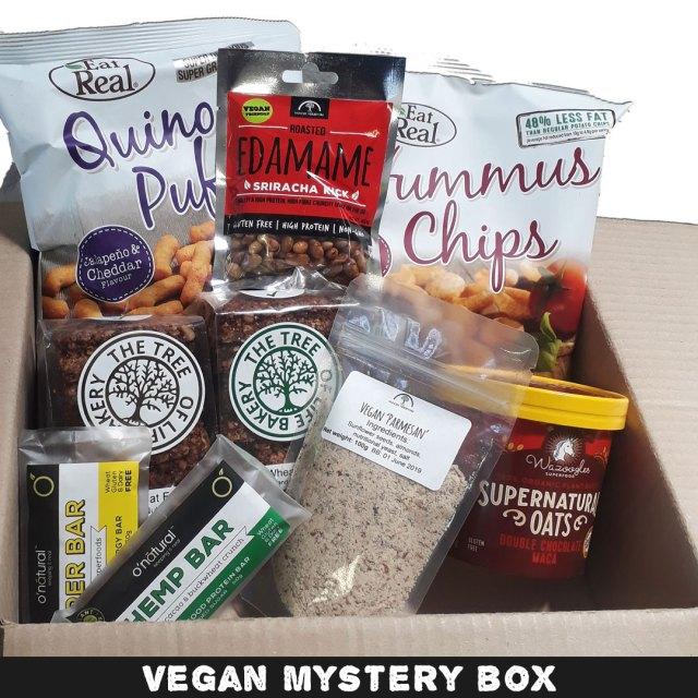 herbivorous mystery box cape town vegan christmas