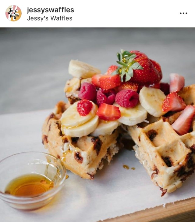 cape town vegan jessy's waffles