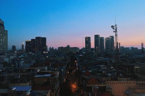 Không ngờ Sài Gòn có NƠI NGẮM HOÀNG HÔN SÀI GÒN đẹp đến thế