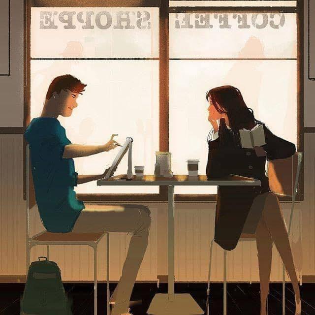 , ✅  Quán cà phê nghệ sỹ, Cà Phê Thứ Bảy