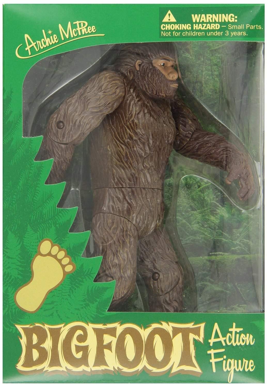 Bigfoot Action Figure  Captain Hollywoods Curiosity Shop