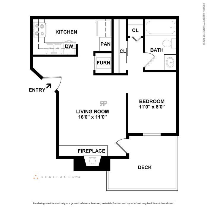 Rainbow Ridge 1 & 2 Bedroom Apartments in Kansas City, KS