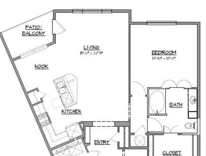 Floor Plans at The District at Medical Center