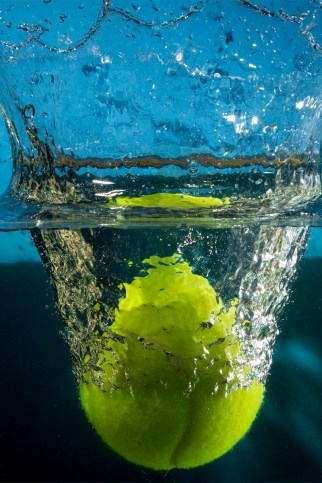 Tennis Ball Splash