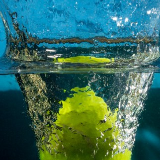 Tennis Ball Splash