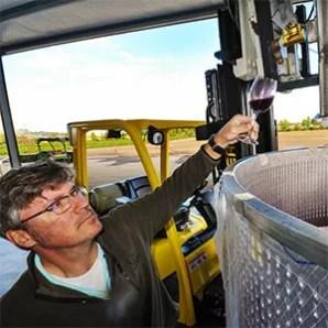 2Hawk Vineyard and Winery Winemaking with Kiley Evans