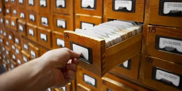 Library Card Catalog Research