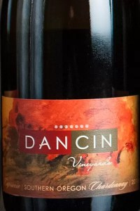 DANCIN Vineyards Original Bottle Label