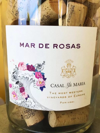 Mar de Rosas Casal Sta. Maria Bottle Wine Label