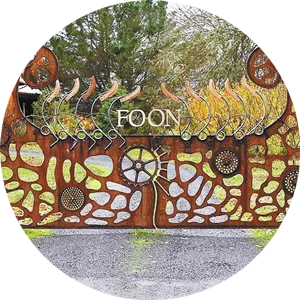Foon Vineyard Gate