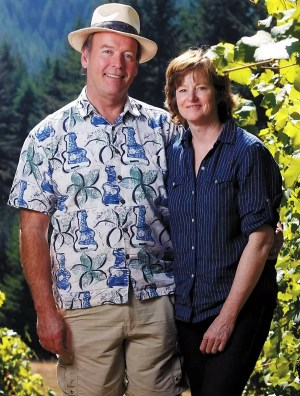 Terry and Sue Brandborg