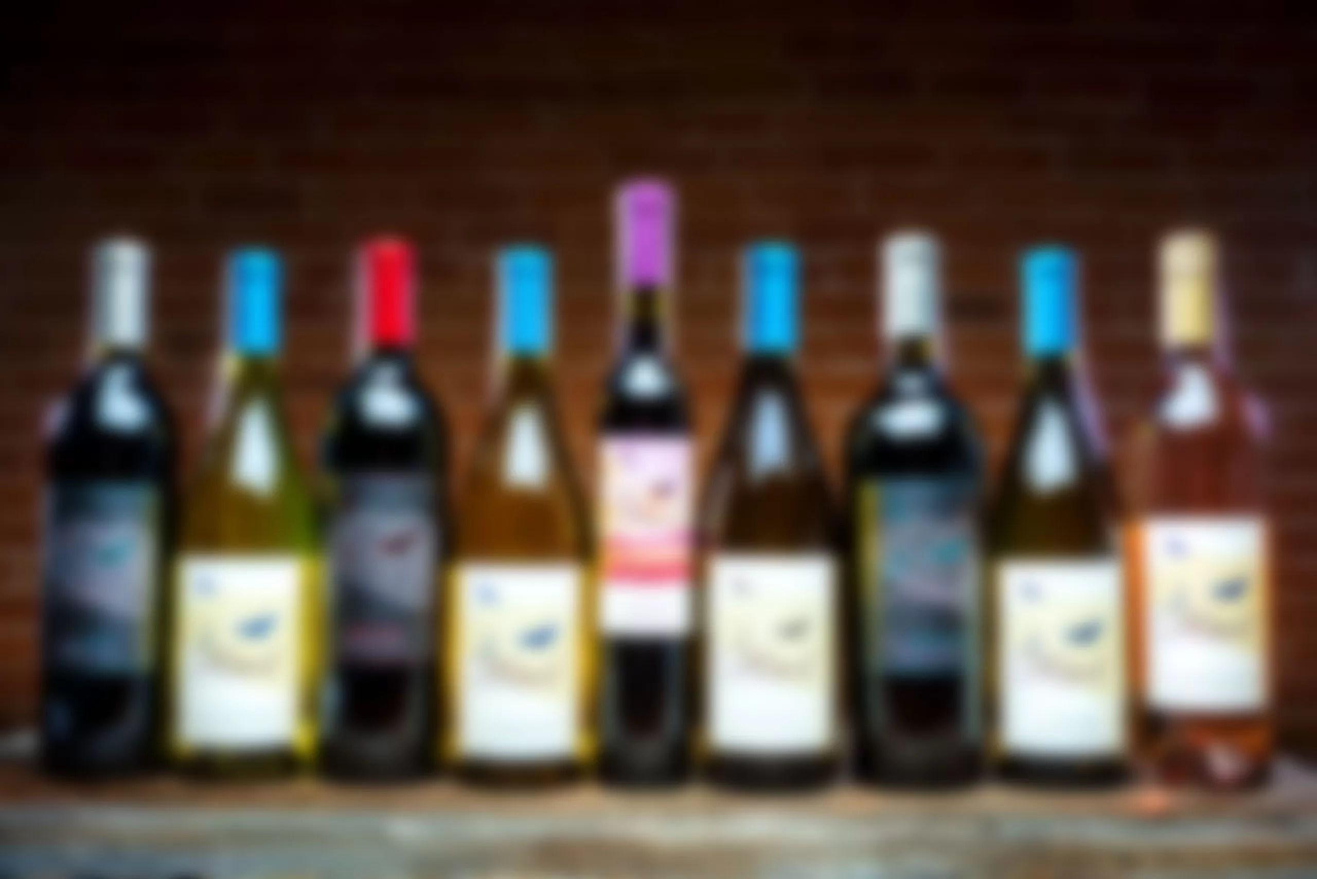 2Hawk Vineyard and Winery Bottles