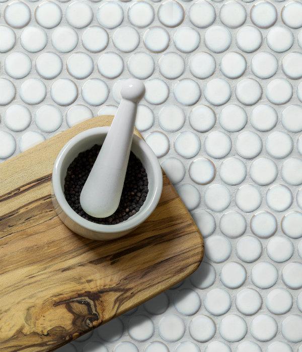 yoga penny porcelain white