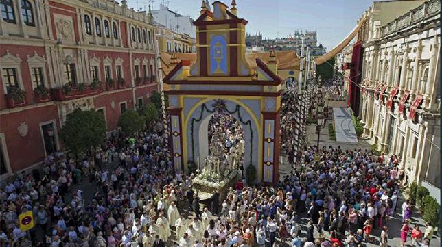 Acompañaremos el Corpus Christi de Sevilla