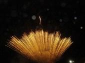 Fuegos artificiales anuncian el aniversario 103 de la Provincia de Capinota