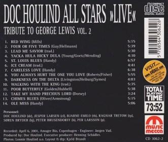 Tribute to George Lewis Vol. 2
