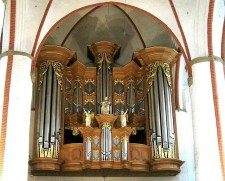 Arp Schnitger organ,  St. Jacobi Hamburg