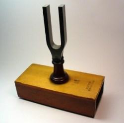 Diapason Normal, a copy of Koenig's tuning fork