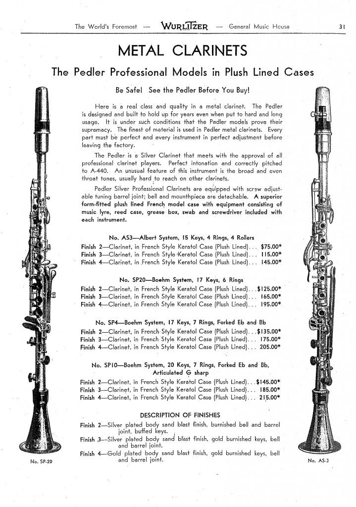 Catalogue 1930