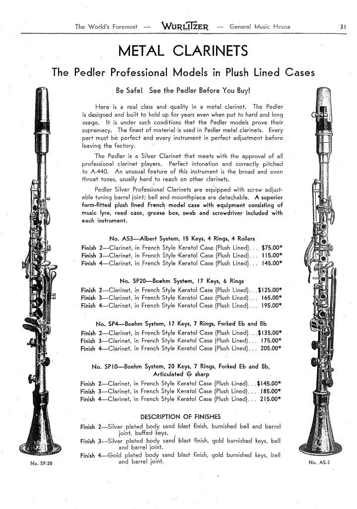 Katalog 1930