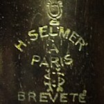 Gammelt logo - Selmer
