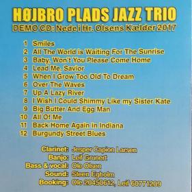 Højbro Plads Jazz Trio - B