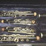 "SELMER clarinets in A and Bb, ""Full-Albert""-System as Johnny Dodds played in 1925"