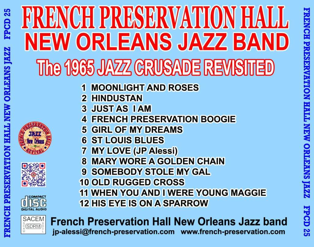French Preservation Hall New Orleans Jazz Band