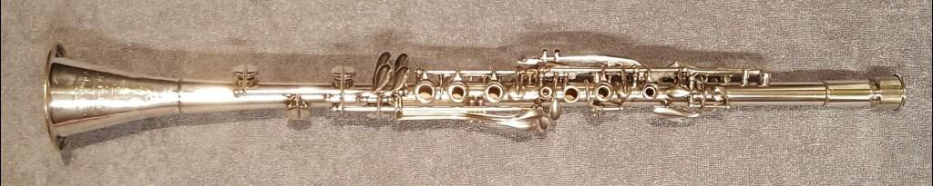 Cavalier Boehm system metal clarinet