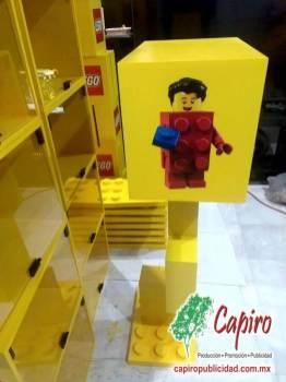 Mostrador MDF Proyecto Blin Builder LEGO 4
