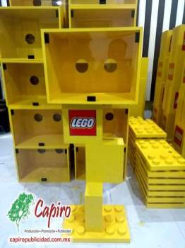Mostrador MDF Proyecto Blin Builder LEGO 5