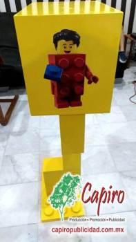 Mostrador MDF Proyecto Blin Builder LEGO 7