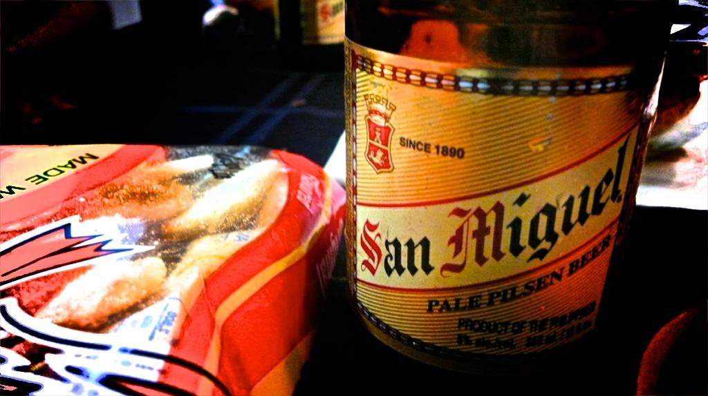 Bière San Miguel Philippines