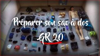 Préparer le GR20 Corse et bien faire son sac à dos