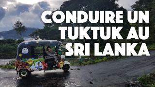 Louer et conduire un tuktuk au Sri Lanka