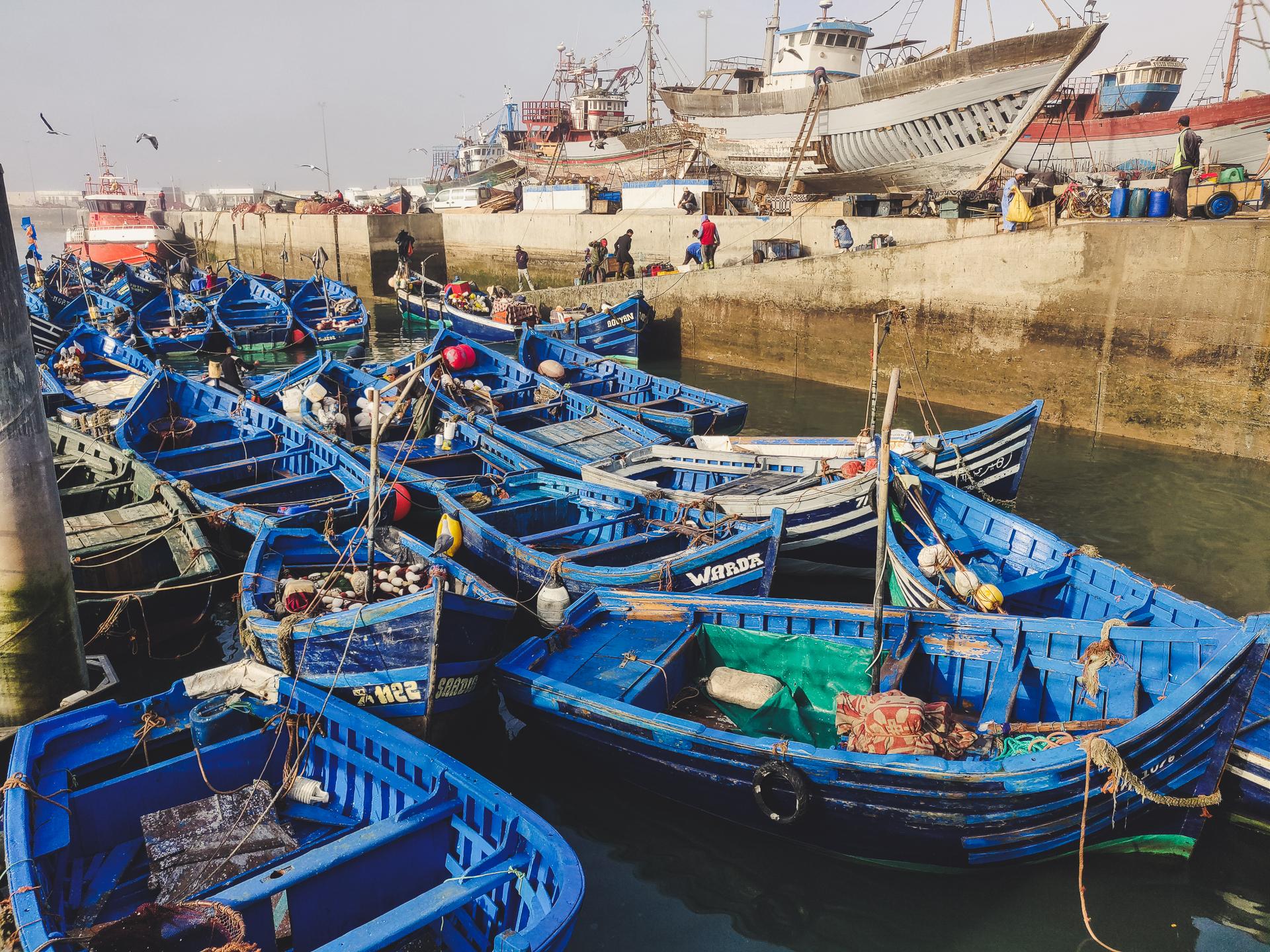 Le port Essaouira