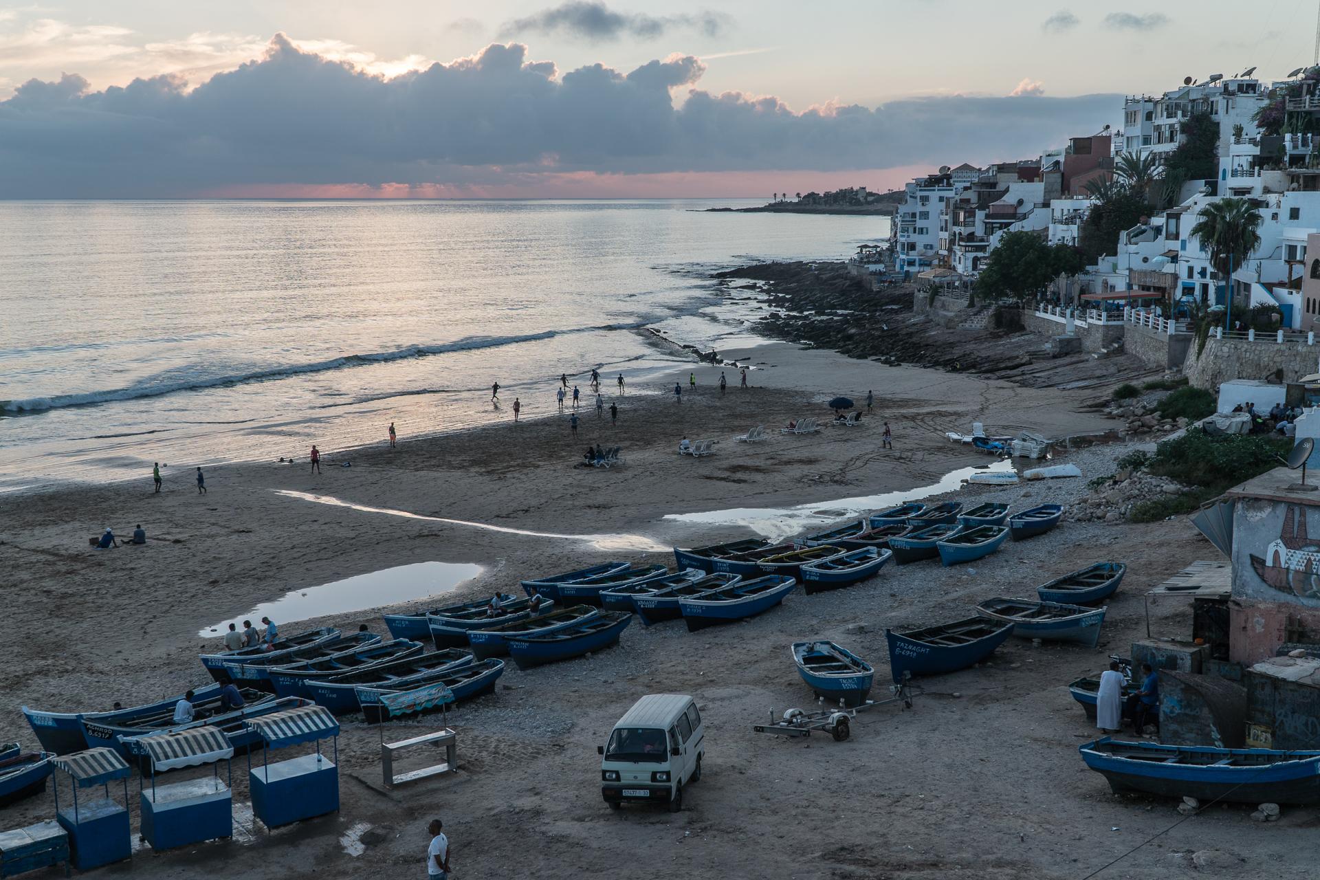 La plage de Thagazout