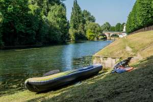 Test Kayak gonflable : Orca 3 places (Aqua Marina)