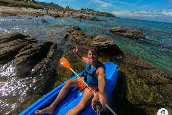 Faire le tour de Corfou en Kayak