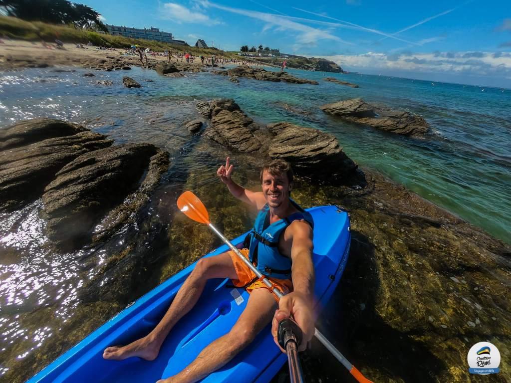 GoPro Kayak Quiberon