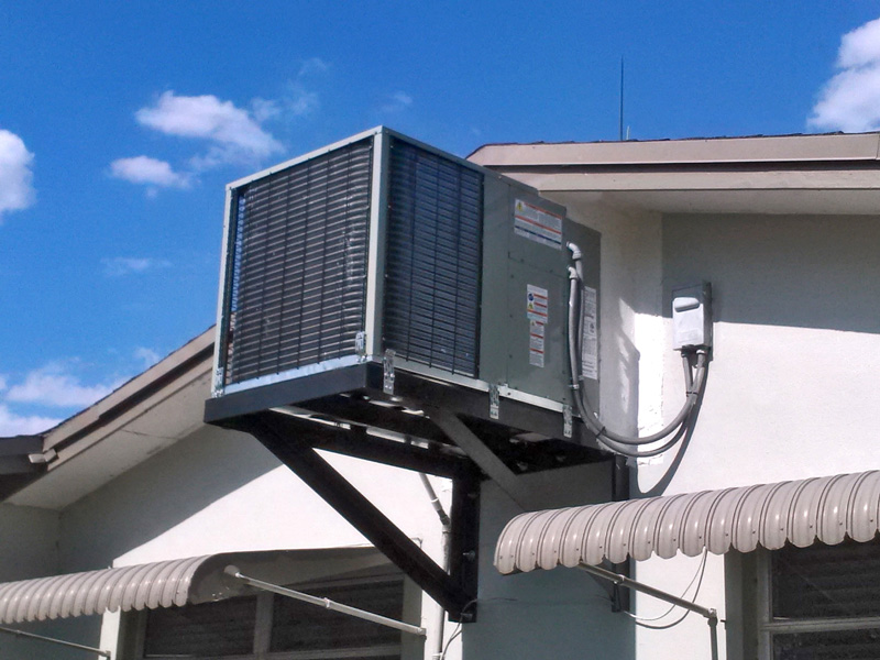 Residential Home Air Conditioning Unit installation