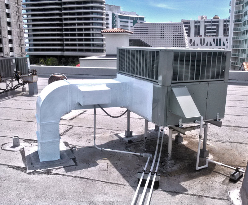 Commercial Air Conditioning Unit Capital Air Replacement Installation