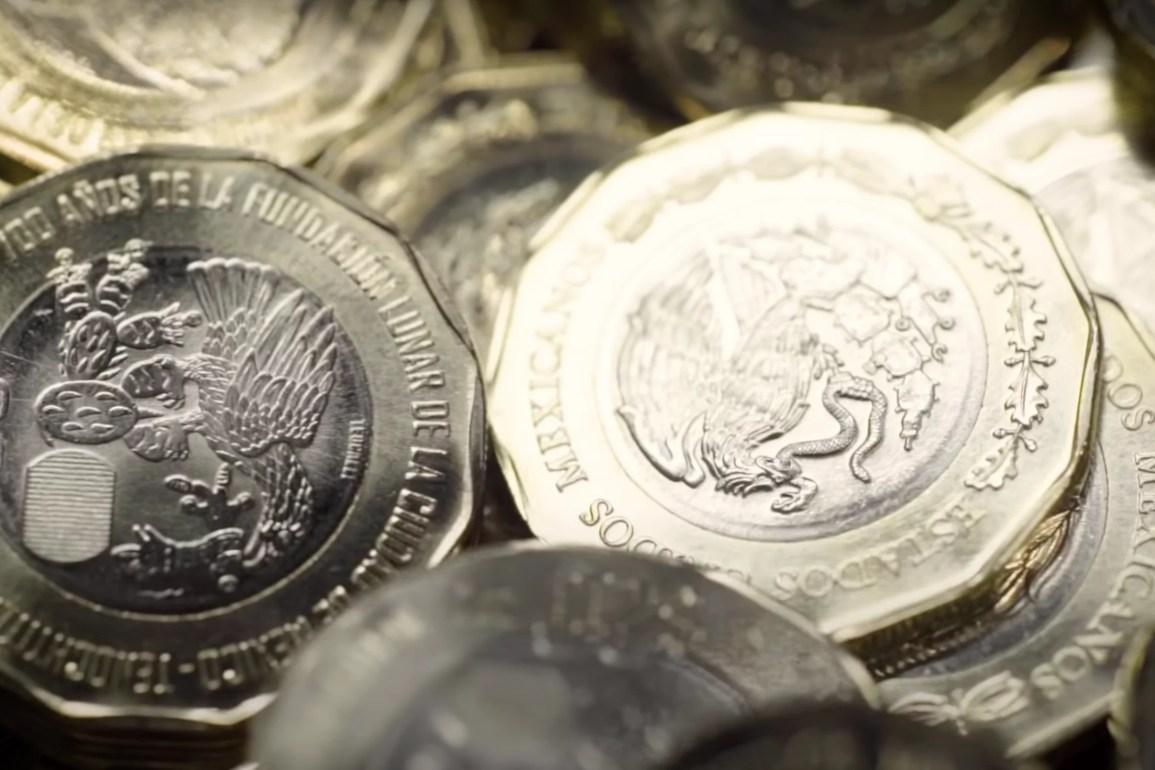 Seis monedas conmemorativas