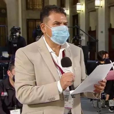 El periodista Daniel Blancas