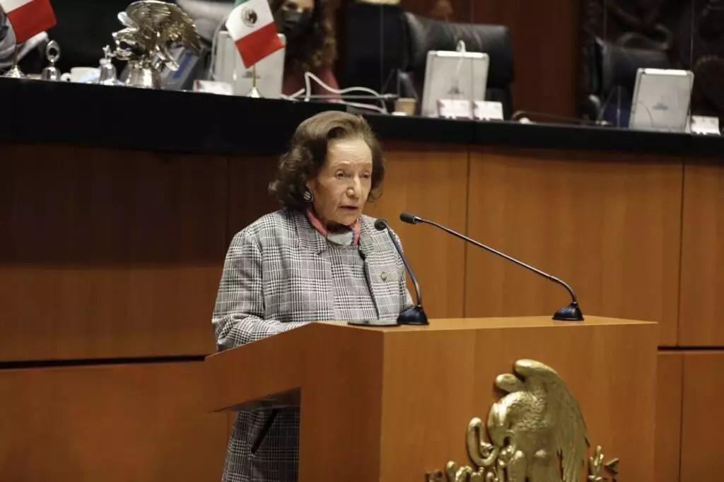 Ifigenia Martínez como propuesta para la Belisario Domínguez