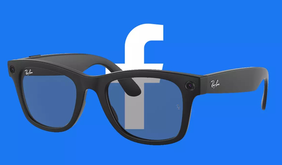 Facebook lanzó lentes inteligentes