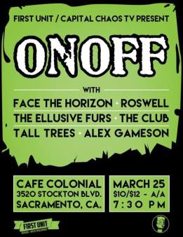 OnOff with The Ellusive Furs and more