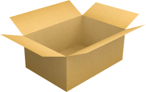 A box for packing