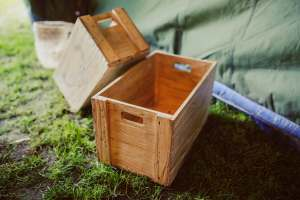 Not everything can be packed inside a wooden box