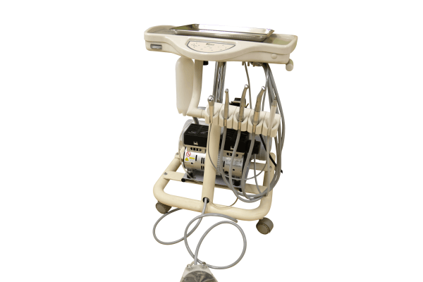 Portable Mobile Cart with Integrated Compressor MC-1300FC - Dental Delivery System